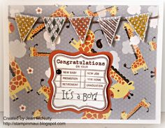 Stamping Maui: Baby Shower Card and Frame