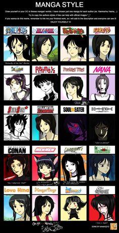 Manga-Anime Style Meme Fun by cartoonlion on deviantART