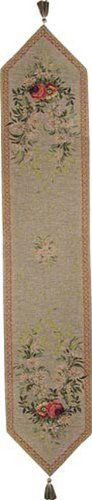 Table Runner, Tapestry Fabric, French Made - Elegant & Fine - Aubusson by BlessinglightUSA. $72.00. Save 38%!