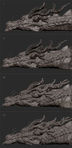 ArtStation - The last dragon, Zhelong XU