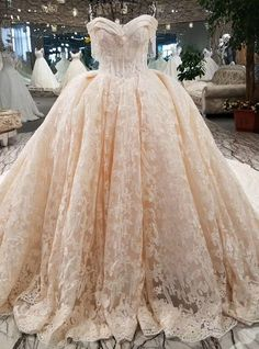 Luxury Wedding Dress Beading Ball Gown Off The Shoulder Lace Up Lace Bridal Wedding Gowns Muslim Wedding Dresses, Luxury Wedding Dress, Dream Wedding Dresses, Wedding Gowns, Prom Dresses, Big Dresses, Amazing Dresses, Beautiful Dresses, Lace Wedding
