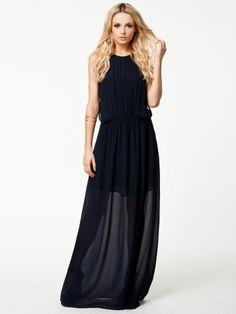 Jeshi Long Dress - Dagmar - Navy - Juhlamekot - Vaatteet - Nainen - Nelly.com