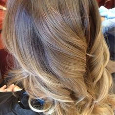 Natural creamy blonde ombré | Yelp