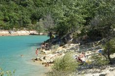 Camping Le Vieux Chene **  -Plage du camping-