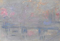 Claude Monet: Charing Cross Bridge, 1900