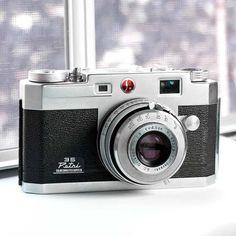 The Petri 35 rangefinder  vintage camera  by VintageCameraClub, $79.00