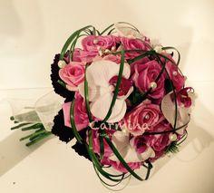 Ramos de novia wedding bouquet, malva, orquídeas, bridal bouquet