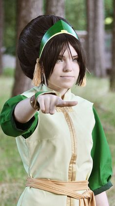 Toph Bei Fong #cosplay - Iu0027ll be watching you!  sc 1 st  Pinterest & Submission Weekend! Toph Beifong from Avatar: The Last Airbender ...