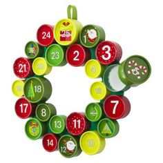Threshold™ Advent Wreath - love this take on the advent calendar!