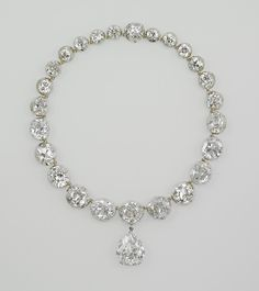 The Coronation Necklace ~ worn by every British Queen since Queen Victoria.