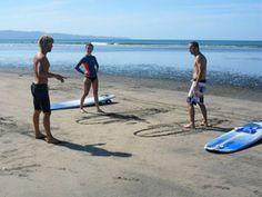 Surf Lessons in Santa Catalina, Panama