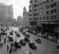 Gran Vía y Callao, década de 1950