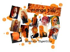 """""""Orange Hair"""" by bluebanana ❤ liked on Polyvore featuring beauty"""