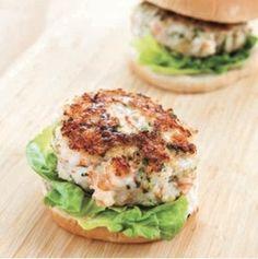 Detail sfs shrimp burger