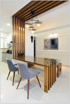 Kitchen Room Design, Home Room Design, Modern Kitchen Design, Home Interior Design, Living Room Designs, Interior Decorating, Modern Design, Kitchen Ceiling Design, Interior Designing