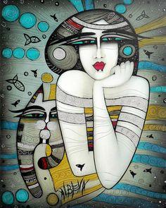 Painter Albena Vatcheva | An Authentic Talent