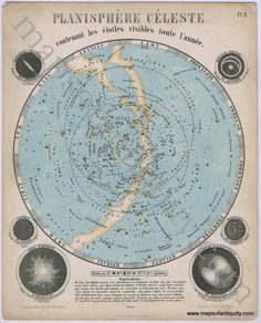 96 Best Celestial Maps Maps of the Stars Moon Sun Planets and