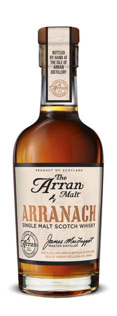 Arranach, meaning a person from the Isle of Arran in Gaelic, is a 2012 multi-vintage malt sold at the distillery