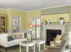 Living Room Yellow Walls yellow living room design ideas | deep brown, living rooms and