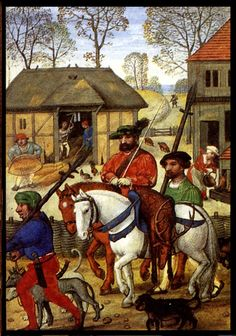Norman/Medieval England - At this time most people worked on the land and lived in villages.