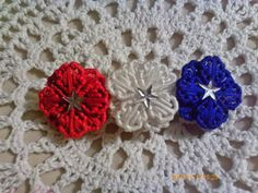 Patriotic Barrette by angelsandcrafts on Etsy, $5.00