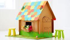 Casas de cartón para niños | La Cajita Azul