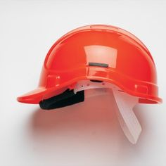 Style 300 Non Vented High Visibility Orange with Sweatband (HC300SB)