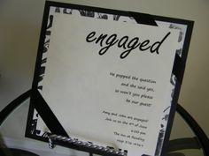 Engagement Party Invitations   Davis Designs: Engagement Party Invitation