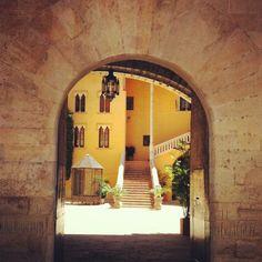 Puerta del  Palacio Ducal de Gandia