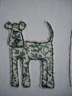 59 Trendy ideas for sewing machine embroidery stitches applique designs Freehand Machine Embroidery, Sewing Machine Embroidery, Free Motion Embroidery, Machine Applique, Embroidery Applique, Machine Quilting, Embroidery Stitches, Embroidery Patterns, Fabric Cards