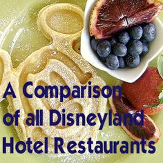 Character dining, fine dining and a local Annual Passholder favorites included