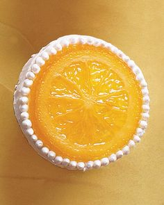 I made a Martha citrus cake once that I bet tastes like this. It had 5 >entire< oranges in it.