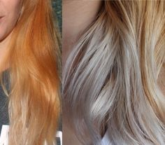 Diy Hair How To Use Wella Color Charm Toner Toning Bleached Blonde