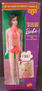 Talking Barbie - My First Barbie!  WIsh I still had her!