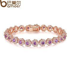 Rose Gold Color Women Bracelet