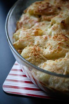 voor 3 personen: 500 g gehakt 3 stronkjes witloof 25 cl lichte culinaire room 3 aardappelen peper en zout 100 g gemalen Emmentaler paneermeel culinaire room Schil de aardappelen en kook ze juist gaar. Giet de aardappelen af en laat ze afkoelen. Bak het gehakt rul en kruid indien nodig met peper en zout. Spoel …