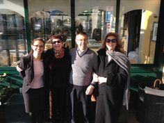 Armando e Patrizia in compagnia di Iva Zanicchi & Corinne Clèry all'Albergo Posta di #Moltrasio www.hotel-posta.it