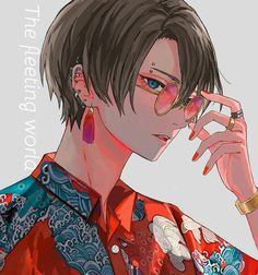From a southeastern city in Qiarenoja Hot Anime Boy, Cute Anime Guys, Anime Art Girl, Anime Oc, Manga Anime, Anime Boy Zeichnung, Anime Tumblr, Japon Illustration, Handsome Anime Guys