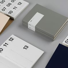 Dutch graphic designer Marjolein Delhaas launches her collection of unique weekly planners for the year 2014.: