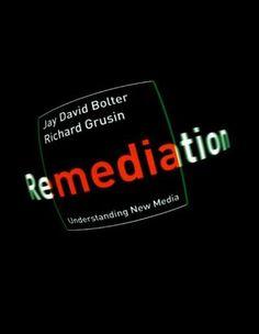 Remediation: Understanding New Media by Jay David Bolter, http://www.amazon.com/dp/0262522799/ref=cm_sw_r_pi_dp_bE6Asb0KFFWR8