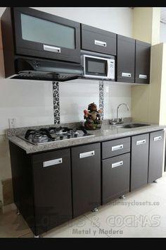 Cosinas #casasmodernasgrandes #cocinapequeña