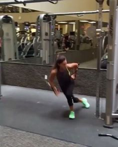 Just found Alexia Clark on instagram-incredibly creative workouts-especially love her k-bell workouts!