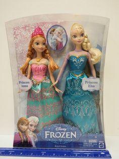 Disney FROZEN - ROYAL SISTERS Princess Anna & Princess Elsa Dolls - Ages 3 & up | Toys & Hobbies, TV, Movie & Character Toys, Disney | eBay!