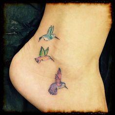 20 bird tattoos for women new tattoo hummingbird tattoo, tat Bird Tattoos For Women, Tiny Bird Tattoos, Tattoo Designs For Women, Flower Tattoos, Baby Tattoos, Sister Tattoos, Body Art Tattoos, Cool Tattoos, Bird Tattoo Wrist