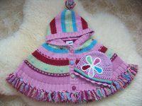 Pletené pončo s kapuckou Winter Hats, Knitting, Sweaters, Baby, Fashion, Moda, Tricot, Fashion Styles, Stricken