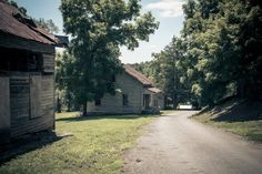 North Carolina's Abandoned Haunted Henry River Mill Village Is Full of Ghost Stories