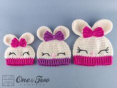 Ravelry: Olivia the Bunny Hat pattern by Carolina Guzman