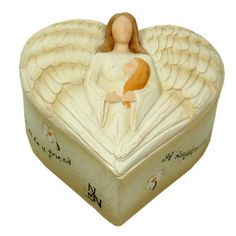 A Daughter Is box  Angel Blessings Keepsake Boxes  Each precious keepsake Angel box includes a To/From gift Card with a touching poem.