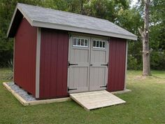 Choose from a variety of DIY shed kits to design the perfect backyard shed. Diy Shed Kits, Storage Shed Kits, Shed Construction, Cheap Sheds, Firewood Shed, Build Your Own Shed, Large Sheds, Shed Roof, Backyard Sheds