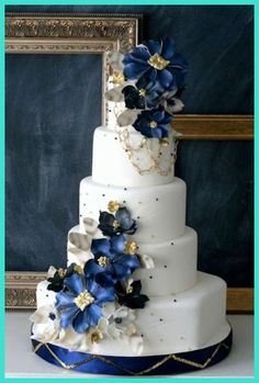 Wedding Cakes - A Tropical Theme Wedding Cake Makes Your Destination Wedding Even More Exotic and Adventurous *** Click image for more details. #WeddingCakes